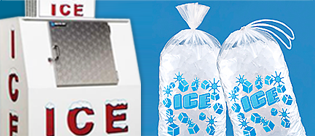 Indoor Ice Merchandisers, Outdoor Ice Merchandisers