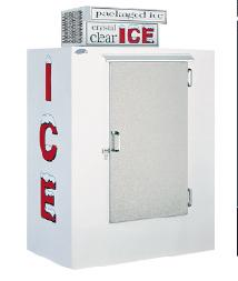 LEER -40 cu ft Outdoor Ice Merchandiser