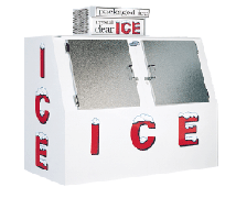 LEER - 60 cu ft Outdoor Ice Merchandiser