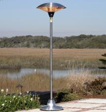 Stainless Steel Round Halogen Patio Heater