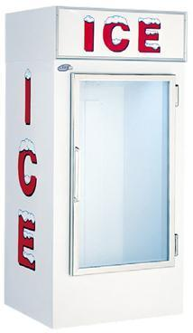 450-7401 - LEER - 30 cu ft Indoor Ice Merchandiser