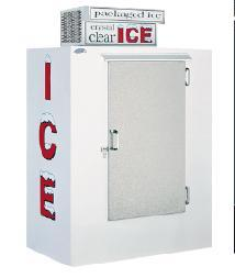 452-7801 - LEER -40 cu ft Outdoor Ice Merchandiser