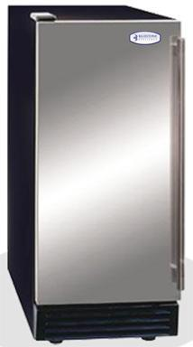 Bluestone - 50 lbs Ice Machine w/ Storage