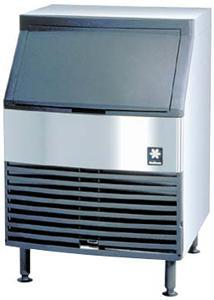 Manitowoc 130 lbs Ice Machine with Storage